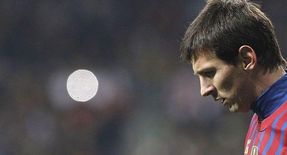 El empate a cero con el Villareal golpeó a la 'Pulga'. (Reuters)