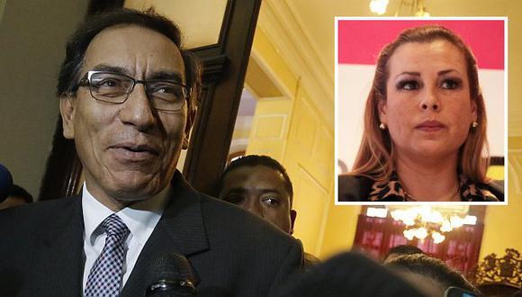 Fiscalización citará a Martín Vizcarra y Fiorella Molinelli (Perú21)