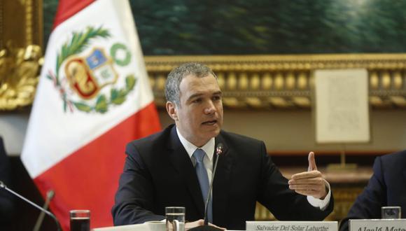 Premier Del Solar no habló sobre quiénes serían los nuevos ministros de Vivienda y Transportes. (PCM).