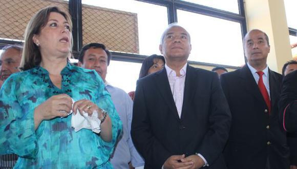 En enero, la ministra viajó hasta Trujillo para inaugurar los bloqueadores. No estaban instalados. (USI)
