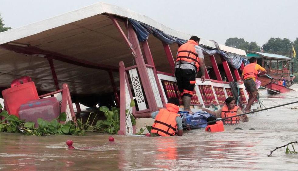 Accidente ocurrió este domingo. (AFP)