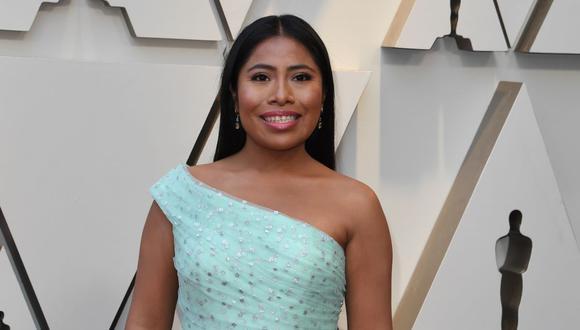 Yalitza Aparicio figura entre los 819 artistas invitados este año por la Academia de Hollywood para unirse a la institución que organiza los Oscar. (Foto: AFP).