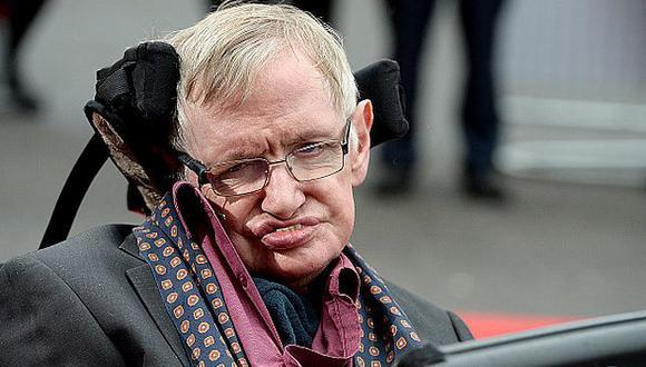 Stephen Hawkings respondió sobre los riesgos de la inteligencia artificial en el mundo. (Getty Images)