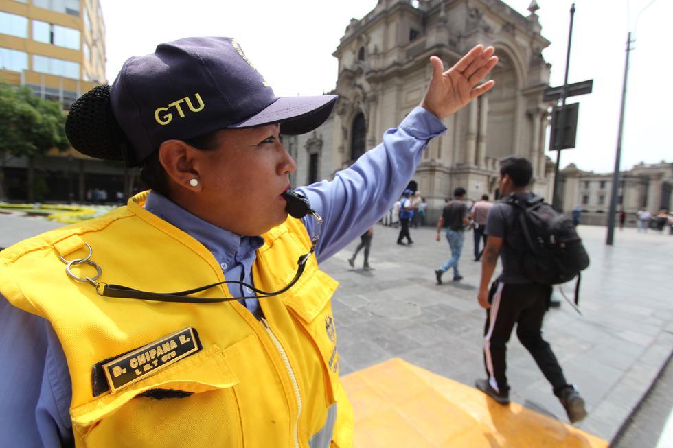 El fin de mejorar la accesibilidad y movilidad de los transeúntes en el Centro Histórico. (Foto: MML)