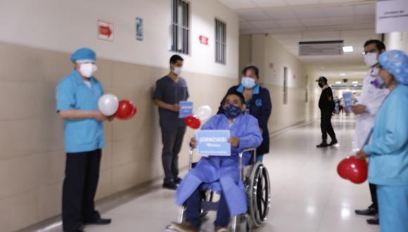 Paciente diabético sobrevive a reconstrucción de tórax y sale de alta en su cumpleaños (Foto: EsSalud)