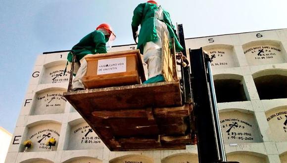 Cementerio El Ángel duplicó su número de entierros y triplicó el de cremaciones. (El Peruano)