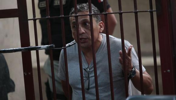 ENTRAMPADO. Antauro Humala deberá esperar unos meses más para tener respuesta a su pedido. (César Fajardo)
