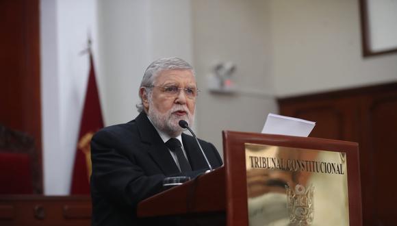 En defensa. Ernesto Blume subrayó que no existió ninguna presión sobre los magistrados del TC para dictar el fallo del caso Fujimori.(Foto: Giancarlo Ávila / GEC)