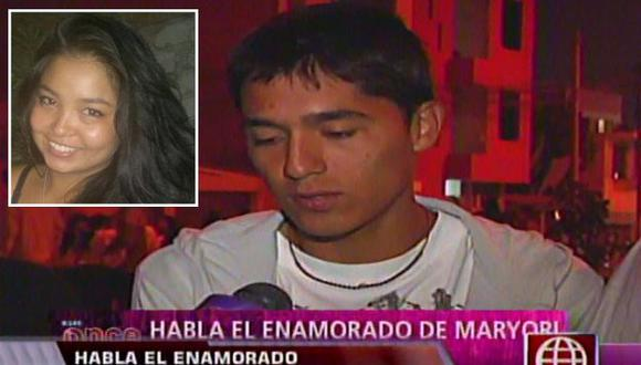 Jorge Collazos negó que la joven estuviera embarazada. (Captura de TV/USI)
