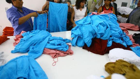 ComexPerú alertó sobre proteccionismo a textiles nacionales. (USI)