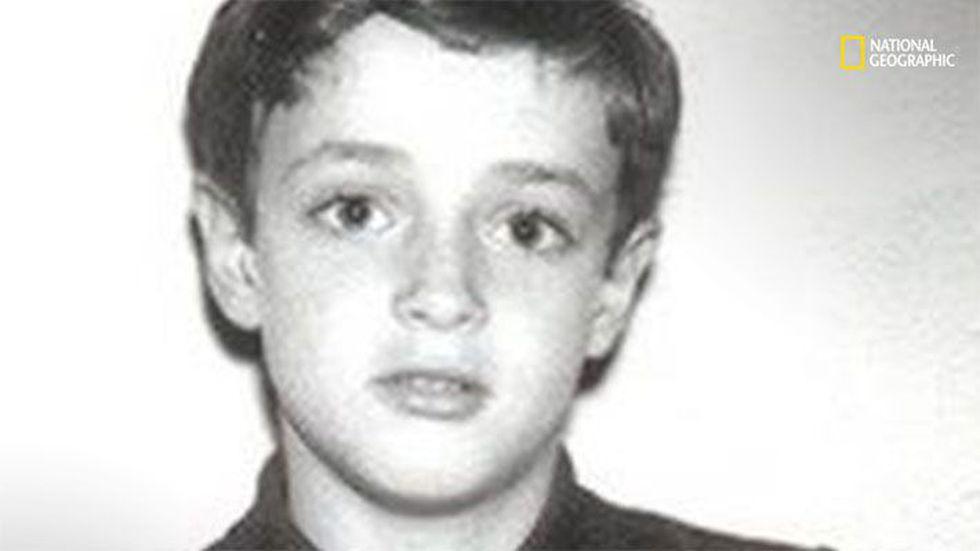Esta foto es de la infancia de Gustavo Cerati: (Foto: National Geographic)