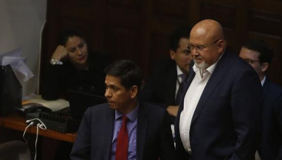 """""""Bueno si hay la rectificación no tendríamos porque sentirnos ofendidos"""" indicó Meléndez. (Foto: GEC)"""
