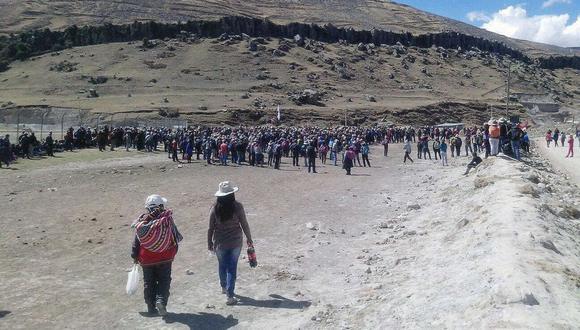 MMG sostuvo que los envíos y las ventas de concentrados también se ha visto afectados con las protestas. (Foto: EFE)        PERÚ PROTESTAS