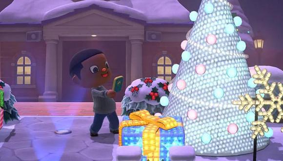 Las festividades llegan al mundo  de 'Animal Crossing: New Horizons'.