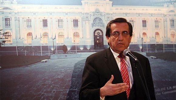 Congresista Jorge del Castillo a favor de realizar el referéndum este año. (Foto: Agencia Andina)