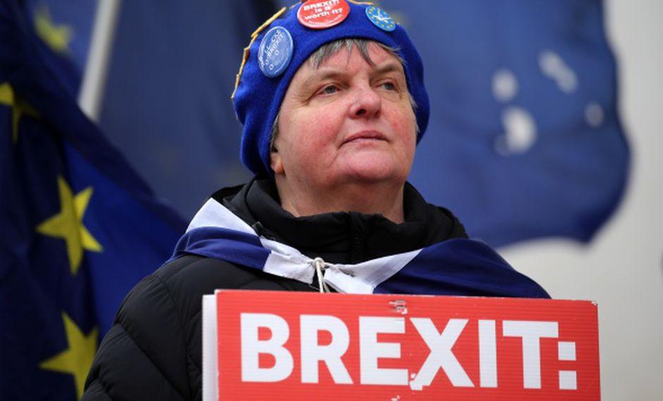 Los diputados británicos votarán por tercera vez, el 20 de marzo a más tardar, sobre el Tratado de Retirada de la Unión Europea. (Foto: AFP)