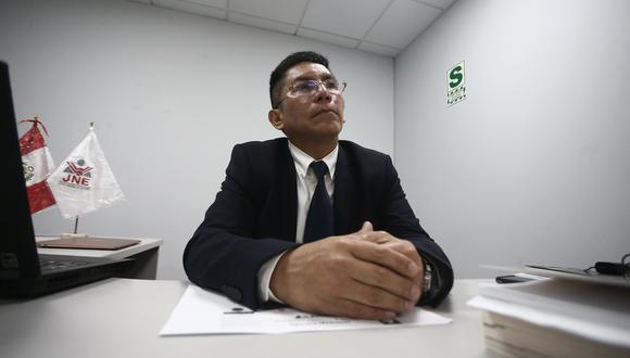 Luis Carrasco preside el Jurado Electoral Especial Lima Centro 1 (Foto: GEC)