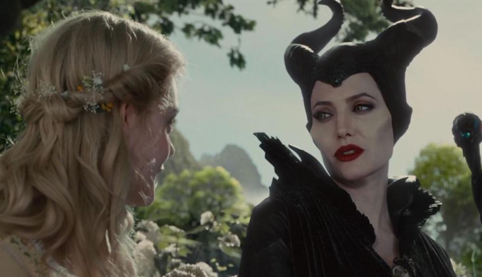 """Angelina Jolie protagoniza el primer póster oficial de """"Maléfica: Mistress of Evil"""". (Foto: Disney)"""