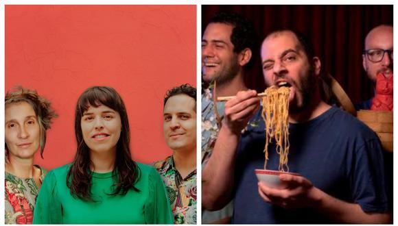 Alejandro y María Laura y Kanaku y El Tigre presentan canciones con Andrea Echeverri y Jorge Drexler. (Fotos: Difusión)