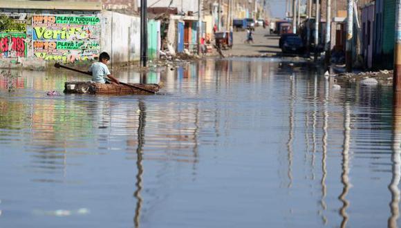Miles de familias fueron afectadas por el fenómeno de El Niño (Agencia Efe)