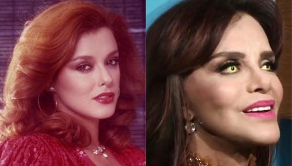 Reciente aparición pública de Lucía Méndez genera distintas reacciones entre los fans. (Foto: Televisa / Univision)