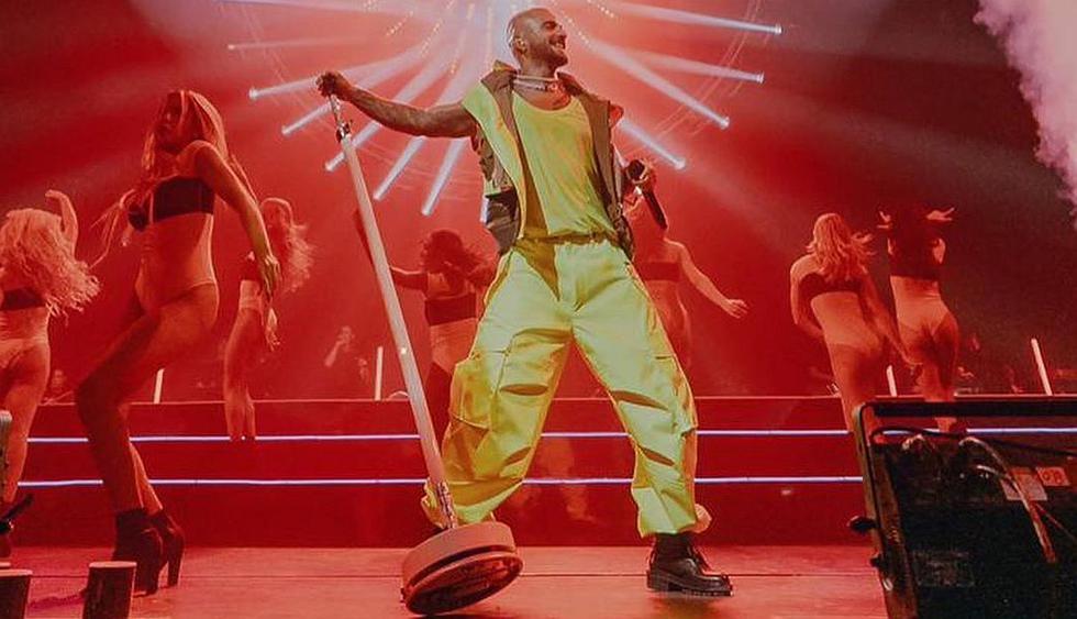"""Maluma compartió un emotivo video de su primer concierto del """"11:11 World Tour"""". (Foto: @maluma)"""