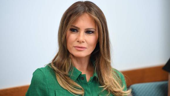 Claudia Sierra se sometió a diferentes operaciones con el fin de parecerse a Melania Trump. (AFP)