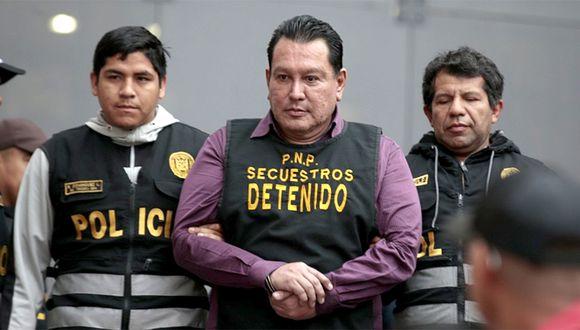 Félix Moreno fue detenido en una vivienda de Cieneguilla. (GEC)