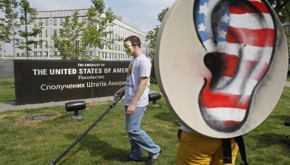 ESPIONAJE. Escuchas del Gobierno de Estados Unidos siguen generando protestas en todo el mundo. (Reuters)