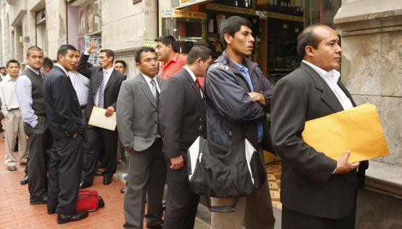 Castigo simbólico. La multa por casos de discriminación laboral es de solo S/.10,950. (USI)