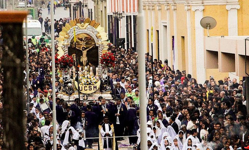 Festividad del Señor de los Milagros en Arequipa este año será de manera virtual