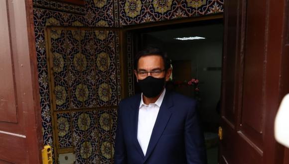 Martín Vizcarra dijo que tuvo reuniones con varios políticos, entre ellos Keiko Fujimori, en el 2015. (Foto: Presidencia)
