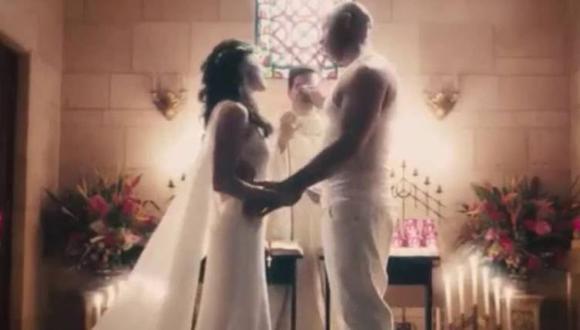 Dom y Letty se casaron en República Dominicana (Foto: Universal)