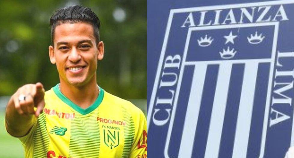 Cristian Benavente dijo que el primer club peruano que se le viene a la cabeza es Alianza Lima. (Foto: Nantes / GEC)