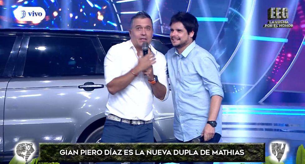 """Gian Piero Díaz hizo si aparición en el primer episodio de """"Esto es guerra"""" del 2019.  (Foto: Twitter)"""