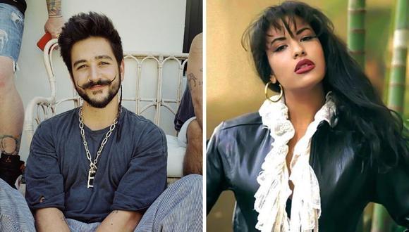 """Camilo aseguró no saber qué era el """"Tex mex"""", ni de la cantante Selena Quintanilla. (Foto: Instagram / @camilo / @selenaqofficial)."""