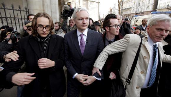 """Según eñ relator de la ONU, Julian Assange presenta """"todos los síntomas (de) tortura psicológica"""". (Foto: EFE)"""