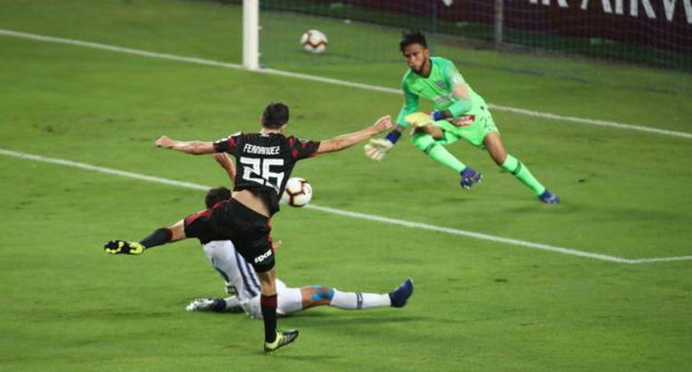 La respuesta de Gallese que evitó gol de River Plate en Copa Libertadores. (Foto: Giancarlo Ávila / GEC)