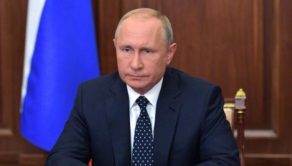Mandatario ruso propuso que la edad de jubilación para las mujeres aumente a 60 años, en lugar de los 63 planteados inicialmente. (Foto: AFP)