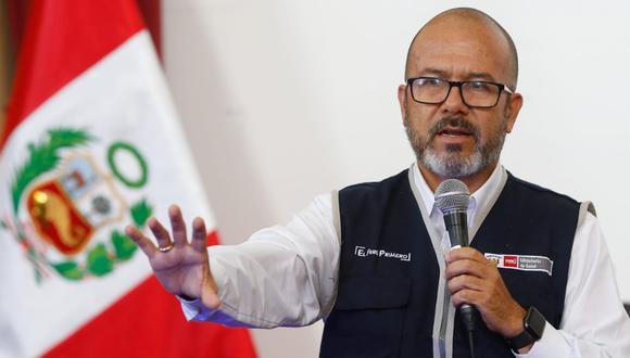 """El ministro Zamora afirmó que vienen implementando un plan para """"inmovilizar"""" al coronavirus. (Foto: GEC)"""