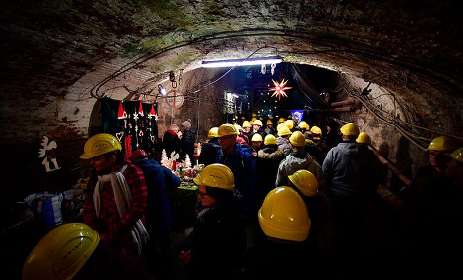 """La Asociación de Mineros y Unión de la Construcción (AMCU) manifestó su """"extrema preocupación"""" por los trabajadores atrapados. (Getty)"""