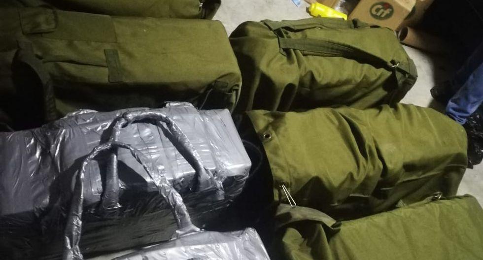 Agentes de la Dirandro incautaron 373 kilos de clorhidrato de cocaína.
