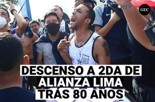 Alianza Lima: Los blanquiazules descienden a 2da después de 80 años