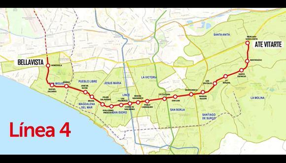 La ATU indicó que será totalmente subterráneo, contará con 28 estaciones las que podrán ser recorridas en solo 45 minutos. Para el año 2025, este tren podrá transportar al día a casi 600 mil usuarios. (Foto: ATU)