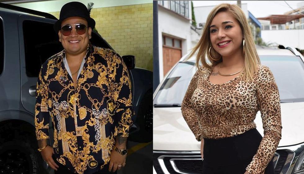 """Gianella Ydoña, esposa de Josimar, habló sobre el supuesto romance del salsero con una bailarina: """"Hasta vergüenza ajena siento"""". (Foto: @josimarfideloficial/@gianella_yl)"""
