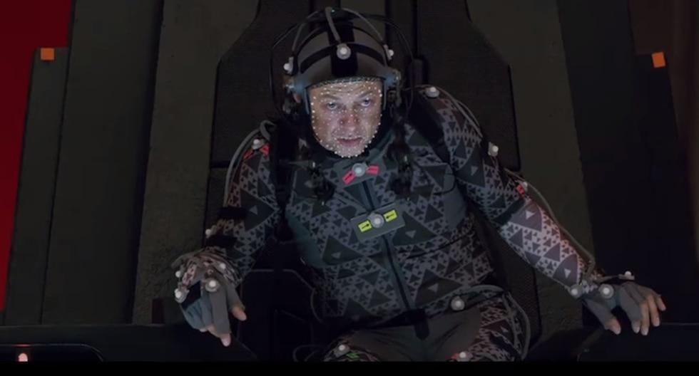 YouTube: Así se realizó la escena del 'líder supremo Snoke' en 'Star Wars: Los Últimos Jedi'. (YouTube)