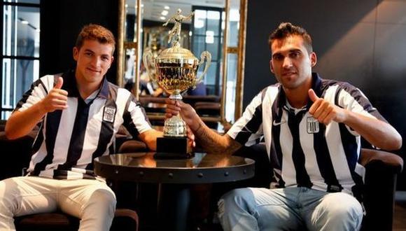 Gabriel Costa y Pablo Míguez son piezas fundamentales para Guillermo Sanguinetti. (Club Alianza Lima)