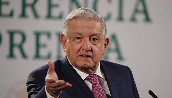 """El presidente de México dijo que no usará mascarilla porque luego de superar el coronavirus """"ya no contagia"""". (Foto: EFE/José Méndez)"""