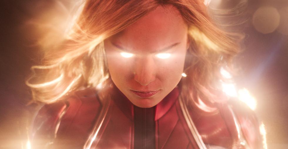 """Los inicios de la película """"Capitana Marvel"""" brinda un corto homenaje a Stan Lee.(Fotos: Marvel)"""