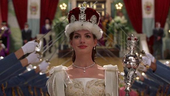 """Anne Hathaway reveló que el guión de """"Diario de una princesa 3"""" ya está listo, (Foto: Disney)"""